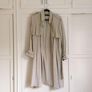 Zara Slouchy Trench Coat with Belt